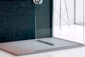 Plato de ducha imitación marfil