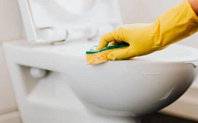 Cómo limpiar un cuarto de baño